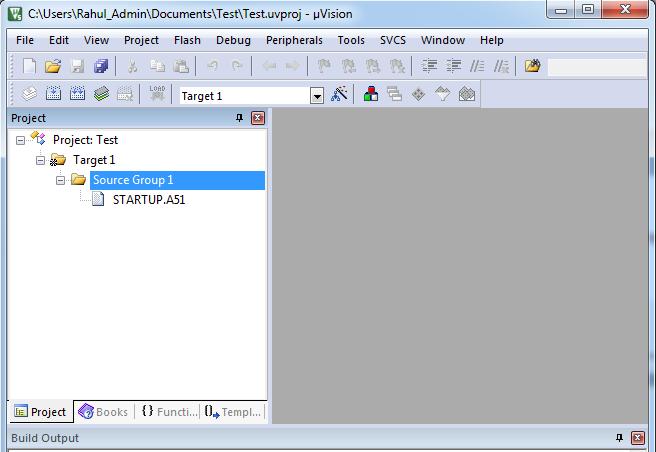 8051 Software Development using Keil uVision IDE | xanthium