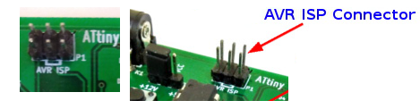 programming ATtiny using ATMEL ISP