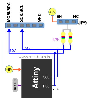 i2c controlled 6 channel relay for arduino,raspberry pi,atmel avr