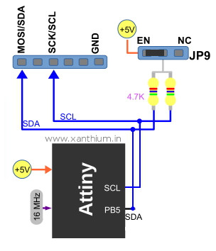 Enabling I2C for 6 channel I2C controlled relay