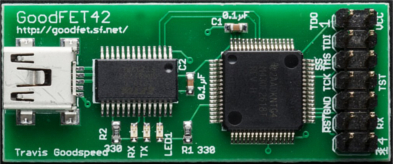 opensource goodfet42 programmer debugger for MSP430 microcontrollers