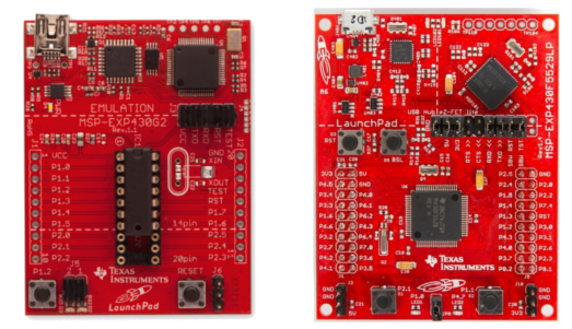 msp430 launchpads for microcontroller development