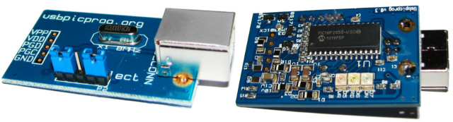 usbpicprog hardware for programming microchip controllers