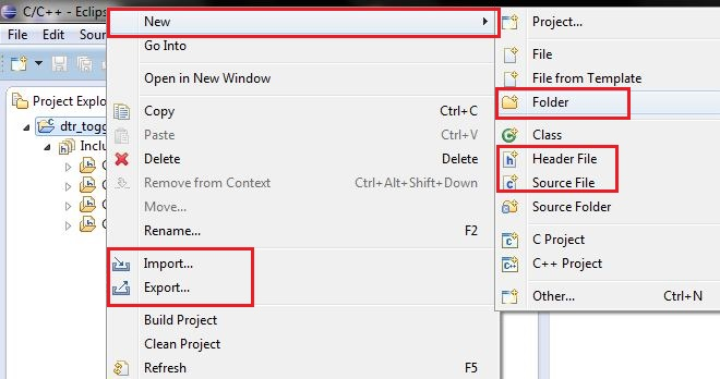 Setting up Eclipse CDT IDE to use the D2XX library