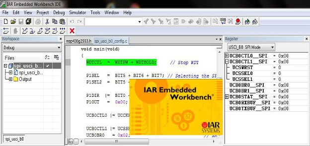 IAR embedded workbench tutorial for msp430 microcontroller and launchpad development board