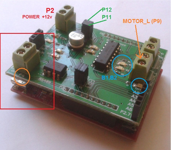 msp430 launchpad motor control booster pack