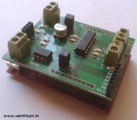MSP430 Motor Controller Shield and RS485 shield