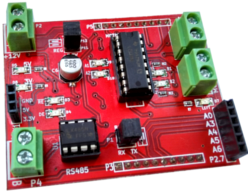buy cheap msp430 motor control booster pack with  rs485 interface for robot building in India