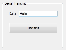 transmitting a string using serial port to arduino using C# and .net framework