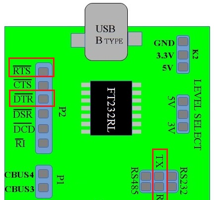 Controlling the RTS and DTR pins of Serial Port in Linux