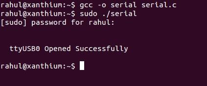 Serial Port Programming on Linux   xanthium enterprises