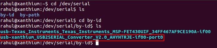Serial Port Programming on Linux | xanthium enterprises