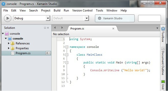monodevelop on windows 7