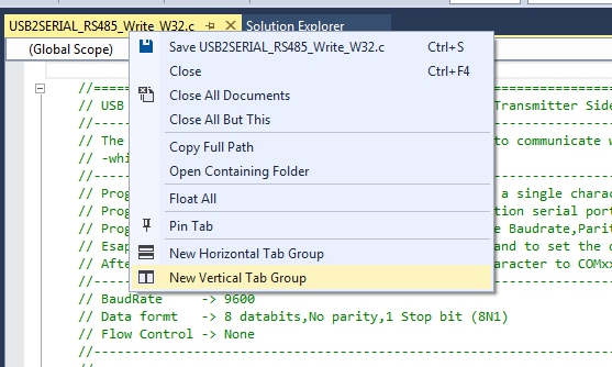 setting the tab order in visual studio 2013